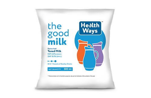 Healthways Toned Milk